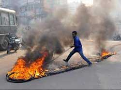 Criminal activities in the name of bandh